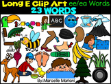 LONG VOWEL E CLIPART (EE/EA WORDS)