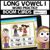 LONG VOWEL I | BOOM CARDS | Digital Task Cards
