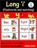 LONG VOWEL I FLASHCARDS AND MATCHING