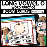 LONG VOWEL O | BOOM CARDS | Digital Task Cards
