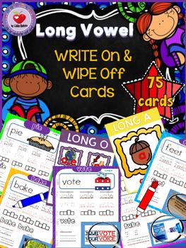 LONG VOWEL PRACTICE CARDS