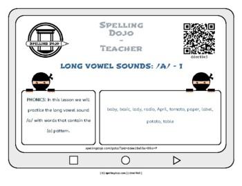 LONG VOWEL SOUNDS: /A/