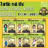 LONG VOWEL TURTLE OUT THE WORD BUNDLE DIGITAL Task BOOM CARDS