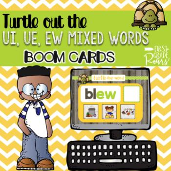LONG VOWELS DECODE THE WORD DIGITAL Task BOOM CARDS