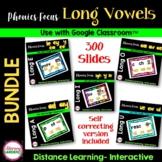 Digital LONG VOWEL Teams - Google Slides™ for DISTANCE Learning
