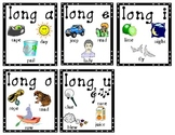 LONG VOWEL learning center activities