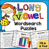 LONG VOWELS Word Search: Fill-in-and-Find Phonics Puzzles