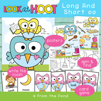LOOK AT HOOT - Let's Learn Abount Long and Short oo Phoneme