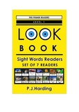 LOOK BOOK Sight Words Readers Level 1 Pre-primer Set