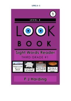 LOOK BOOK Sight Words Readers Level 5 Third Grade Set