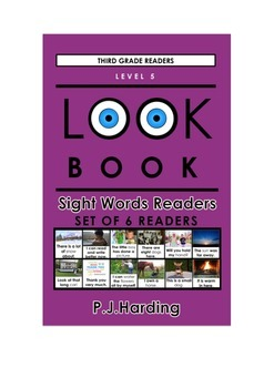 LOOK BOOK Sight Words Readers Level 5 Third Grade Set