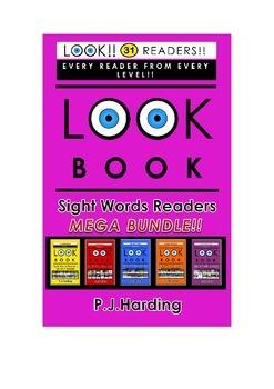 LOOK BOOK Sight Words Readers MEGA BUNDLE!!