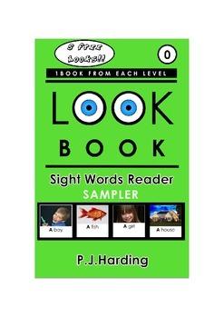 LOOK BOOK Sight Words Readers Sampler