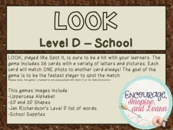 LOOK - Level D School