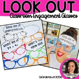Classroom Engagement & Vocabulary Game LOOK OUT Glasses BUNDLE