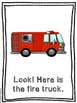 LOOK! at the Fire Station - 2 emergent readers