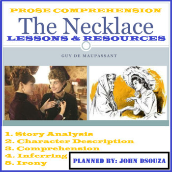 LOOKING AT THE NECKLACE BY GUY DE MAUPASSANT FOR IRONY