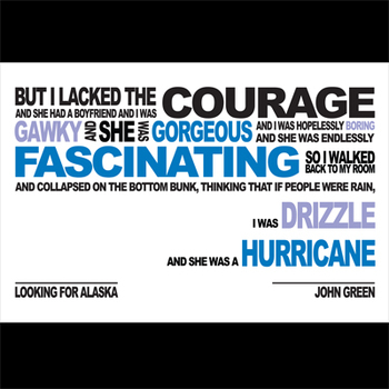 LOOKING FOR ALASKA Class Poster - Hurricane