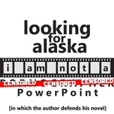 LOOKING FOR ALASKA YouTube Discussion Activity Slideshow