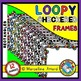 CLIPART BUNDLE: LOOPY CHECKERED CLIPART FRAMES