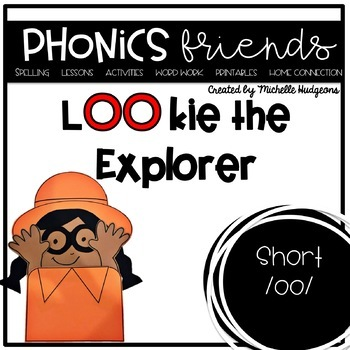 LOOking for Words (Activities for learning short vowel dig