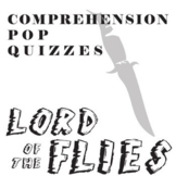 LORD OF THE FLIES 12 Pop Quizzes Bundle