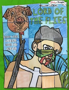 LORD OF THE FLIES, COLLABORATIVE POSTER, AND WRITING ACTIVITY