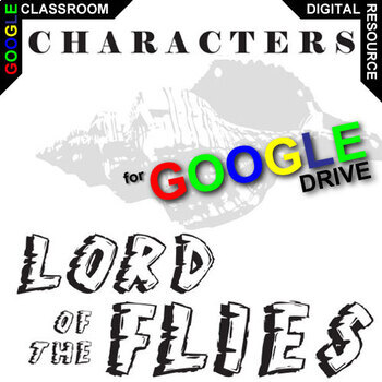 LORD OF THE FLIES Characters Organizer (Created for Digital)