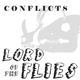 LORD OF THE FLIES Conflict Graphic Analyzer - 6 Types of Conflict