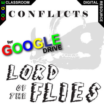 LORD OF THE FLIES Conflict Graphic Organizer (Created for Digital)