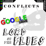 LORD OF THE FLIES Conflict Graphic Analyzer (Created for Digital)