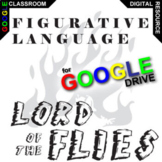 LORD OF THE FLIES Figurative Language Analyzer (62 Quotes) (Created for Digital)