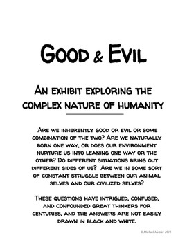 LORD OF THE FLIES: Good-Evil Exhibit Project
