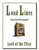 LORD OF THE FLIES LOUD LINES