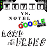 LORD OF THE FLIES Movie vs Novel Comparison (Created for Digital)