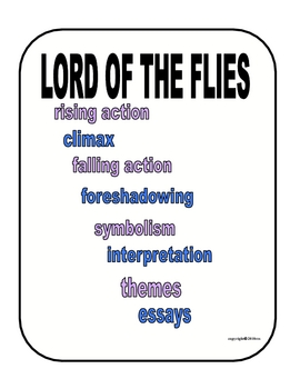 LORD OF THE FLIES PACKET