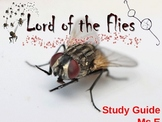LORD OF THE FLIES CREATIVE AND DYNAMIC powerpoint