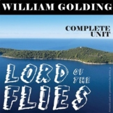 LORD OF THE FLIES Unit Novel Study (William Golding) - Literature Guide