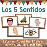 LOS 5 SENTIDOS The Five Senses Activities in SPANISH