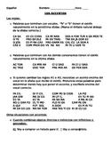LOS ACENTOS Basicos y practica  (Using accents in Spanish)
