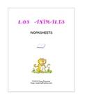 LOS ANIMALES 1 Printable Worksheets -Spanish-English