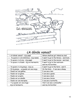 LOS ANIMALES 2 - Bilingual Worksheets for Teachers and Homeschoolers