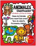 LOS ANIMALES Y SU CLASIFICACION