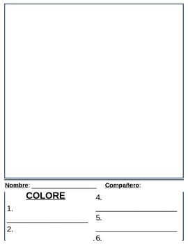COLOREAR POR NÚMERO - Make your own Color-by-numbers