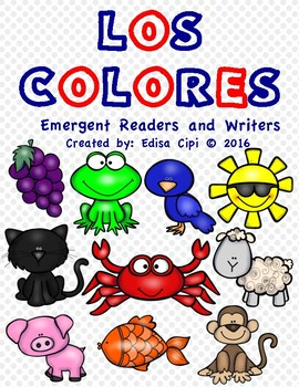 LOS COLORES - COLOURS IN SPANISH