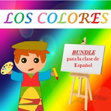 LOS COLORES: THE COLORS IN SPANISH BUNDLE (1st to 5th)