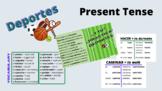 LOS DEPORTES   Conjugation in the Present Tense & Vocabulary
