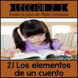 LOS ELEMENTOS DE UN CUENTO (20+ TEXTOS) | STORY ELEMENTS (SPANISH) - Lección 2.1