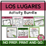 LOS LUGARES Vocabulary BUNDLE