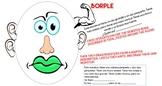 LOS MONSTRUOS  - Spanish Reading Comprehension Activity (B